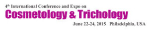 4th International Conference and Expo on Cosmetology & Trichology - June 22-24 2015
