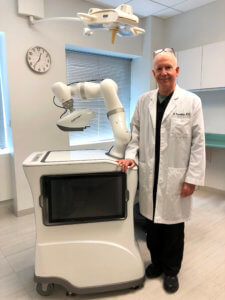 Dr. Bernstein with the ARTAS iX