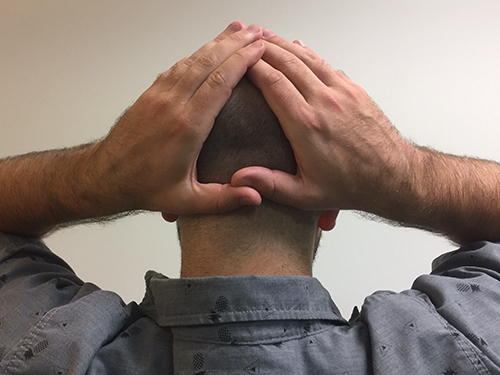 Scalp Laxity Exercise Position 1